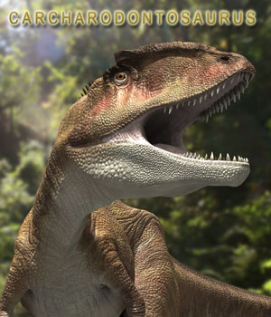 Carcharodontosaurus by MNArtist