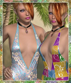 Sunshine for Peek V 3D Figure Essentials sandra_bonello