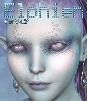 MDD Elphien for V4.2 3D Figure Essentials Maddelirium