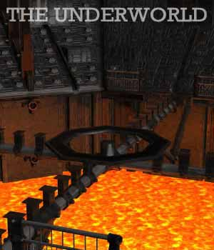The Underworld for DAZ Studio 3D Models Oskarsson