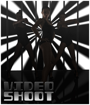 Video Shoot - Poses, Props, Lights, Cameras Software 3D Figure Essentials 3D Models outoftouch