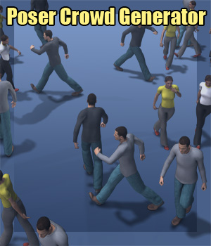 f68_Poser Crowd Generator 3D Software : Poser : Daz Studio : iClone Tutorials : Learn 3D Fugazi1968