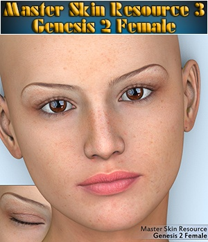 Master Skin Resource 3 - Genesis 2 Female 2D Graphics Merchant Resources 3Dream