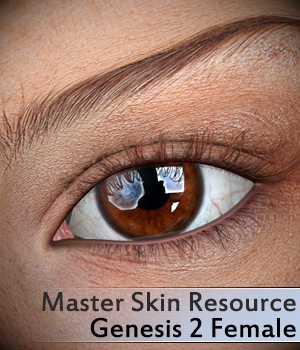 Master Skin Resource 3 - Genesis 2 Female 2D Merchant Resources 3Dream