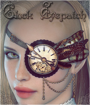 Clock Eyepatch V4/A4/G4 3D Figure Essentials lilflame