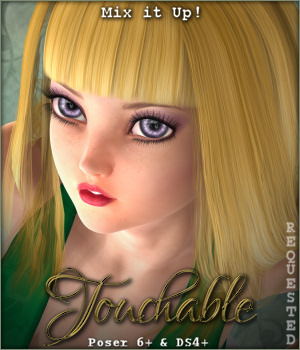 Touchable Angie 3D Figure Assets -Wolfie-