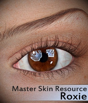 Master Skin Resource 4 - Roxie 2D Graphics Merchant Resources 3Dream