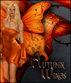 Autumn Wings 2D Graphics antje