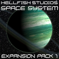 HFS Space System: Expansion Pack 1 - Extended License 3D Figure Essentials 3D Models DarioFish