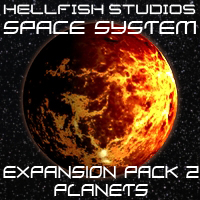 HFS Space System: Expansion Pack 2 - Extended License 3D Models 3D Figure Essentials DarioFish
