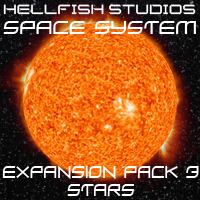 HFS Space System: Expansion Pack 3 - Extended License 3D Models 3D Figure Assets DarioFish