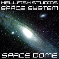 HFS Space System: Space Dome - Extended License 3D Models DarioFish