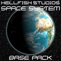 HFS Space System - Extended License 3D Models DarioFish
