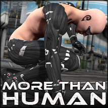 HFS More Than Human - Extended License 3D Models 3D Figure Essentials Gaming DarioFish