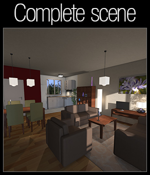 Cheap and cheerful apartment - Extended License 3D Models 2nd_World
