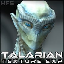 HFS Races: Talarian Textures - Extended License 3D Figure Assets 3D Models DarioFish