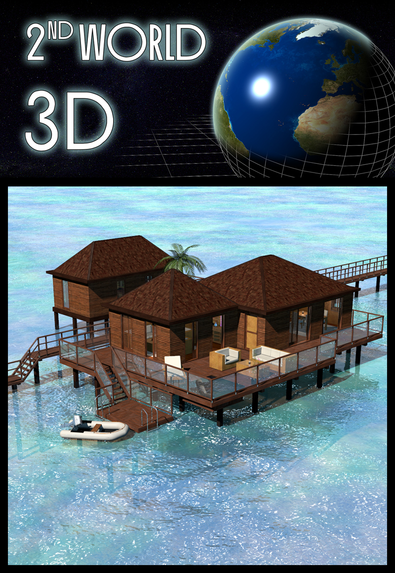 Tropical Villa, Bora Bora - Extended License