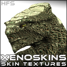 HFS Resources: XenoSkins - Extended License 3D Figure Assets DarioFish