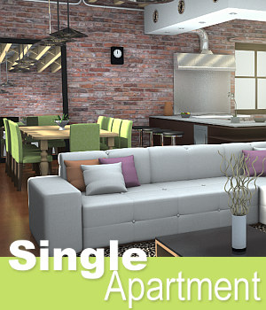 Single Apartment 3D Models TruForm