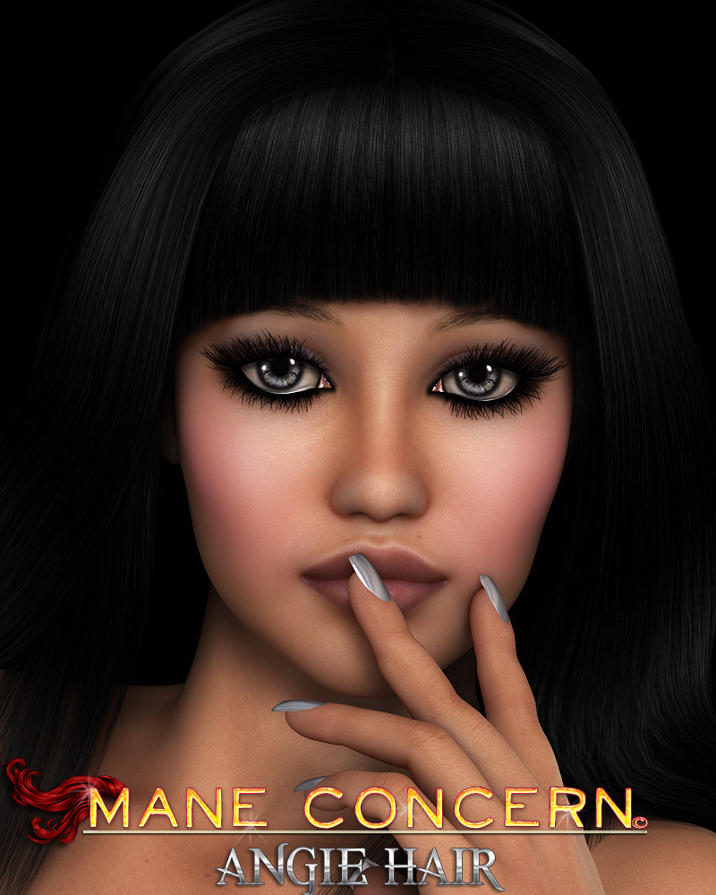 Mane Concern: Angie Hair by 3DSublimeProductions