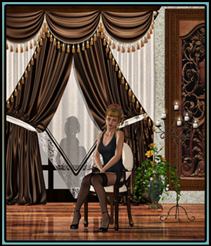 Reloaded for GCD Classic Curtain Set by boundless