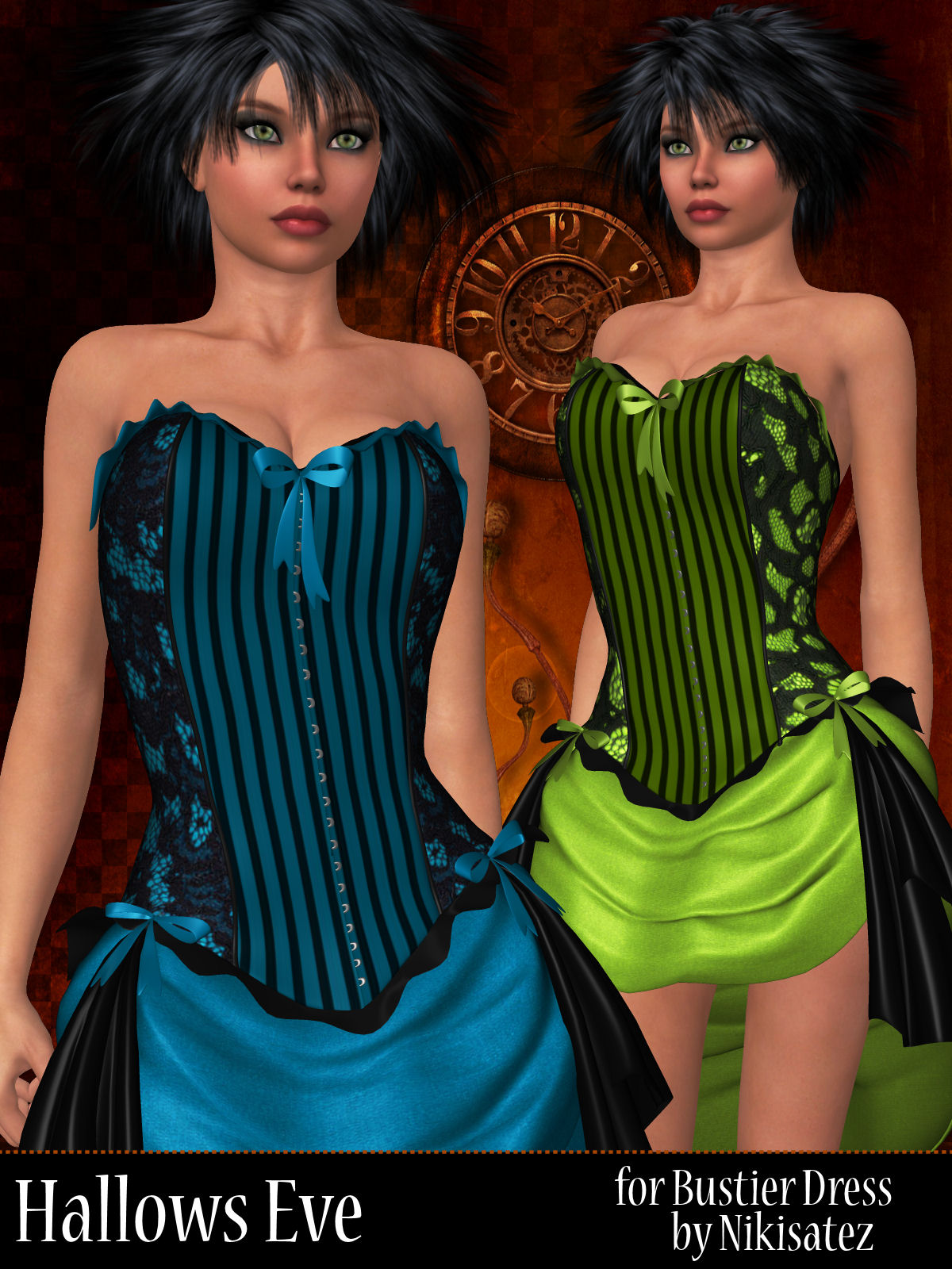 Hallows Eve for Bustier Dress by ANG3L_R3D