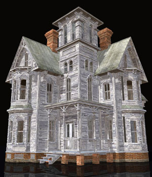 MS14 Haunted Victorians 3D Models London224