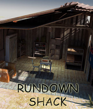 Rundown Shack 3D Models RetroDevil