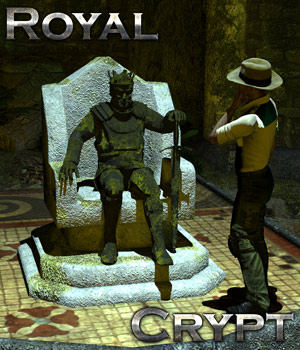 Royal Crypt 3D Models Gaming Cybertenko