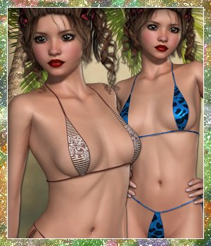 Sunshine for Tiny Bikini VII 3D Figure Essentials sandra_bonello