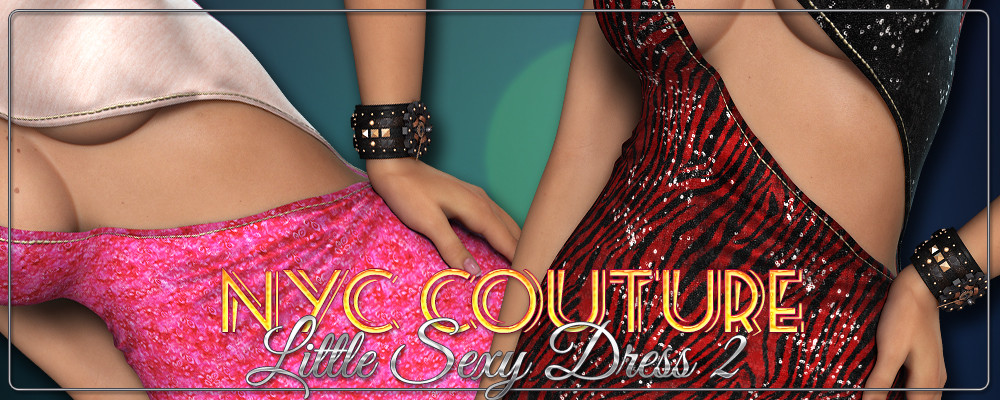 NYC Couture: Little Sexy Dress 2 by 3DSublimeProductions