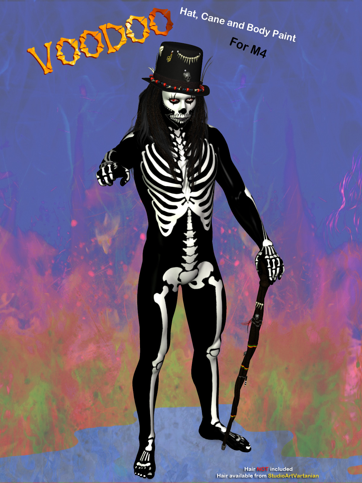 Halloween Voodoo for M4 by Simon-3D