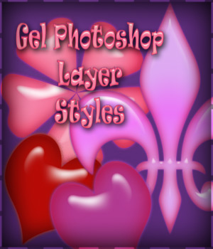 Gel Photoshop Layer Styles 2D Merchant Resources antje