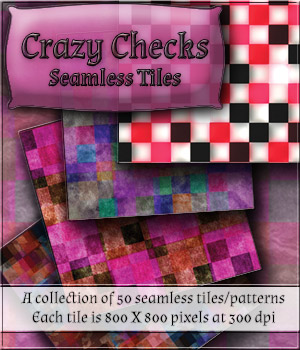 Crazy Checks - Seamless Tiles 2D Merchant Resources antje