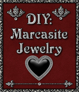DIY: Marcasite Jewelry Styles and PNG Shapes Design Kit 2D Merchant Resources fractalartist01