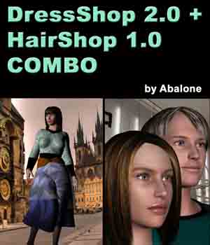 DressShop/HairShop Bundle Software AbaloneLLC