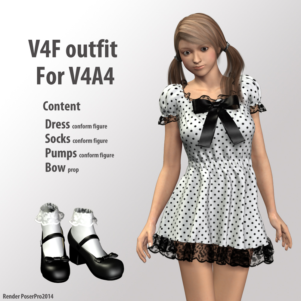V4F outfit for V4A4