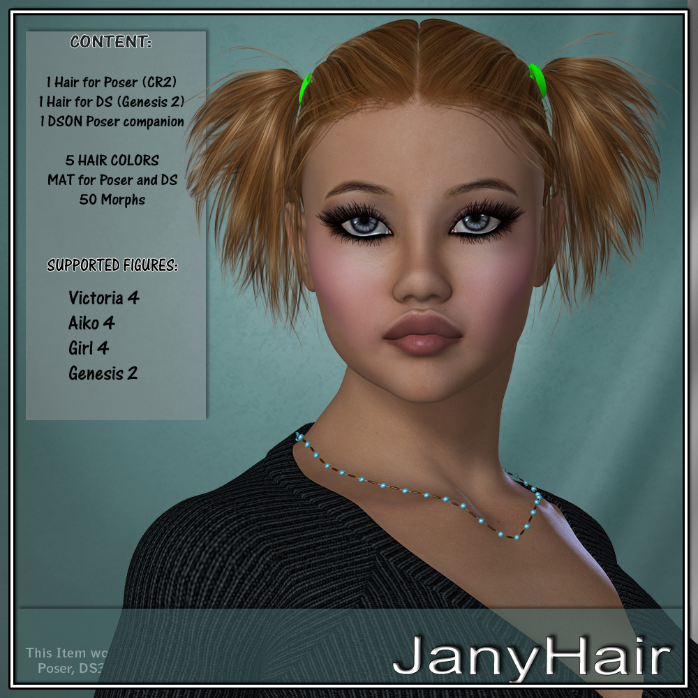 Jani Hair for V4 and G2