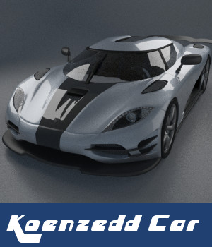Koenzedd Car 3D Models TruForm