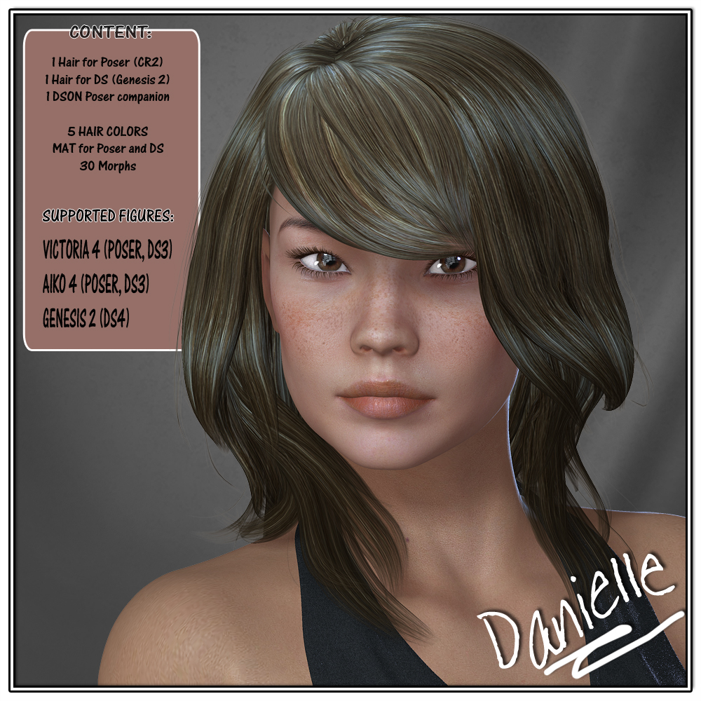 Danielle Hair for V4 and G2