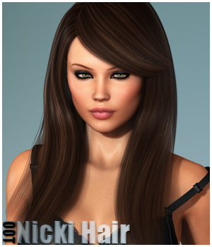 Nicki Hair and OOT Hairblending 3D Figure Essentials outoftouch