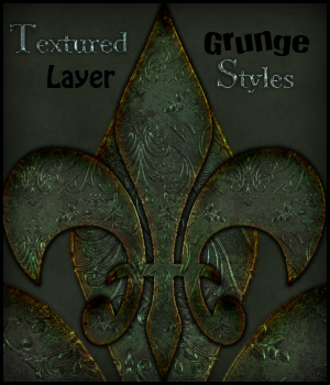 Textured Grunge Layer Styles 2D Merchant Resources antje