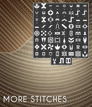 More Stitches 2D Graphics Merchant Resources Atenais