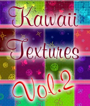 HnAlxn Kawaii textures Vol2 2D Graphics alexaana