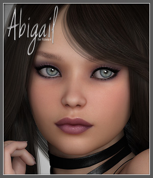 SV7 Abigail 3D Figure Essentials Seven