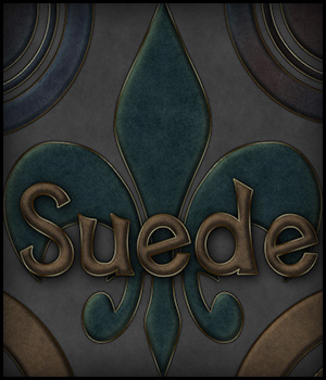 Suede Photoshop Styles by antje