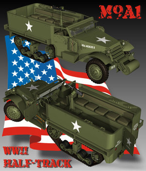 M9A1 HALF-TRACK by Nationale7