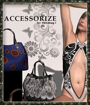 Accessorize 06 for Handbag I 3D Figure Essentials sandra_bonello