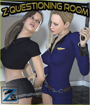 Z Questioning Room + Poses 3D Figure Assets 3D Models Zeddicuss