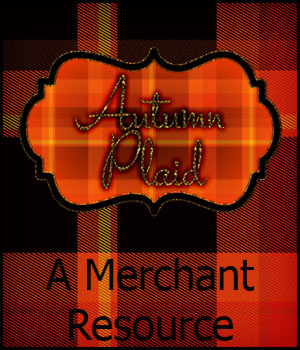 Merchant Resource - Autumn Plaid 2D Merchant Resources antje